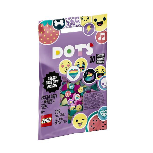 Image of Ekstra DOTS - serie 1 - 41908 - LEGO DOTs (41908)