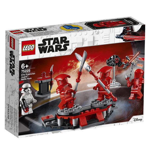 Image of   Elite-prætorianergardister Battle Pack - 75225 - LEGO Star Wars