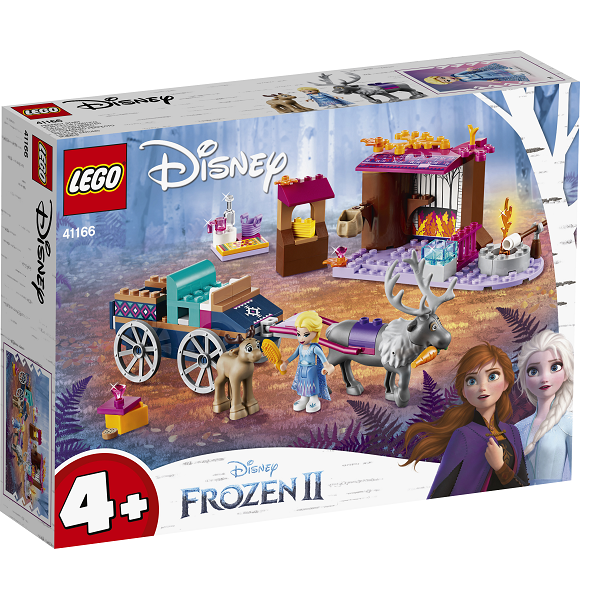 Image of Elsas vogneventyr - 41166 - LEGO Disney (41166)