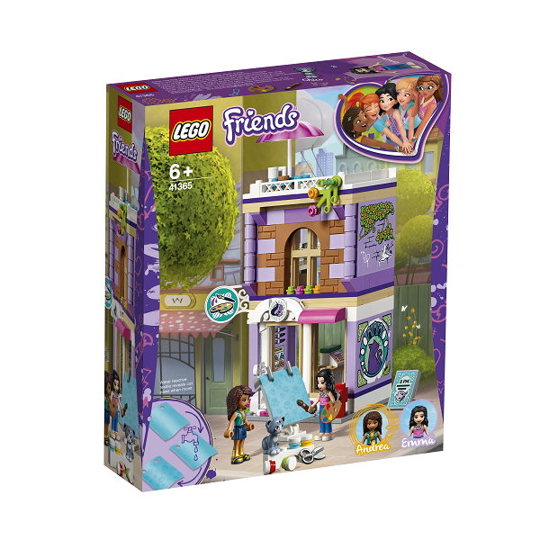 Image of   Emmas kunstatelier - 41365 - LEGO Friends