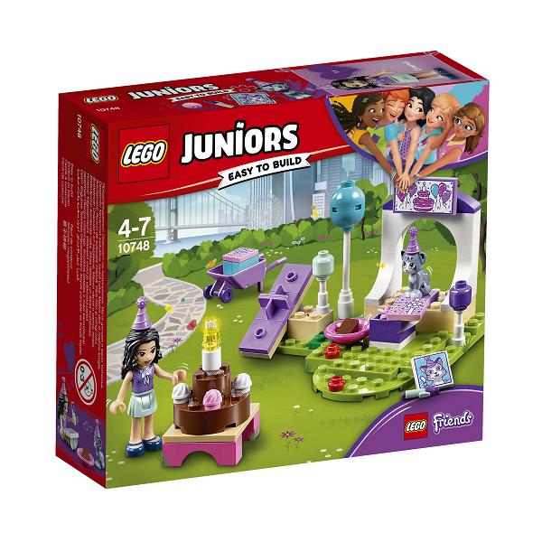 Image of Emmas kæledyrsfest - 10748 - LEGO Juniors (10748)