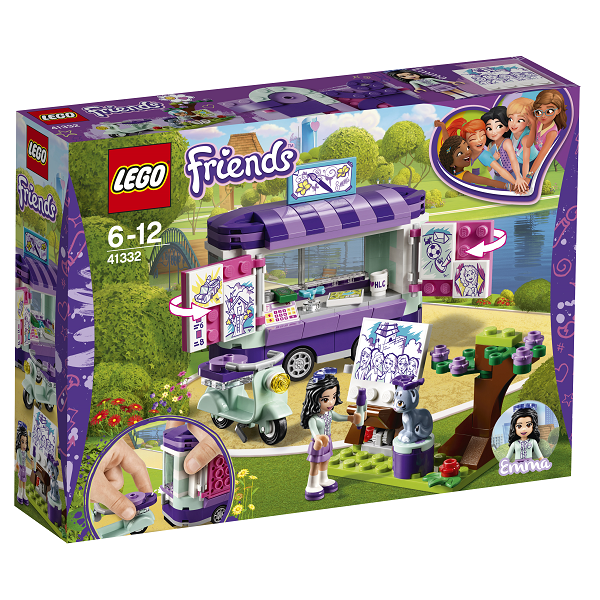 Image of   Emmas kunstbod - 41332 - LEGO Friends