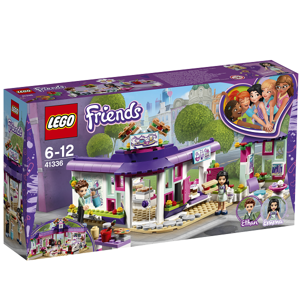Image of Emmas kunstcafé - 41336 - LEGO Friends (41336)