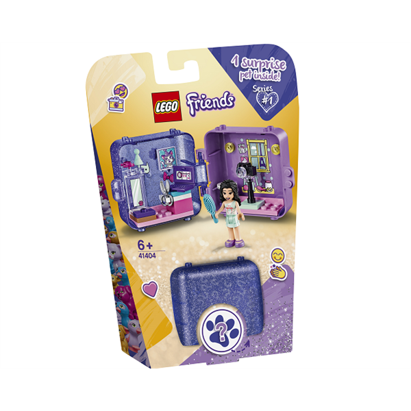 Image of   Emmas legeboks - 41404 - LEGO Friends