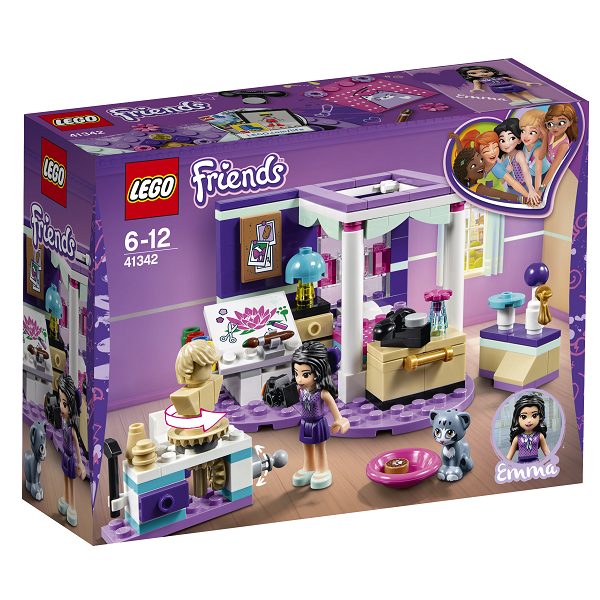 Image of Emmas luksusværelse - 41342 - LEGO Friends (41342)