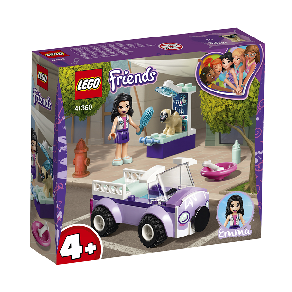 Image of   Emmas mobile dyrlægeklinik - 41360 - LEGO Friends