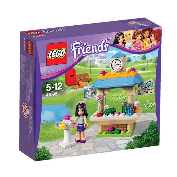 Image of   Emmas turistkiosk - 41098 - LEGO Friends