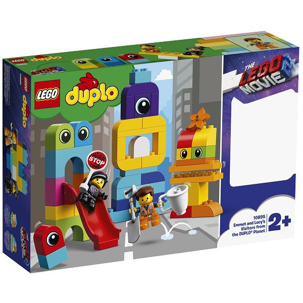 Image of Emmet og Lucys gæster fra DUPLO planeten - 10895 - LEGO DUPLO (10895)