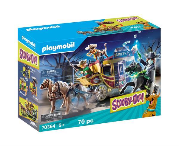 Image of Eventyr i det vilde vesten - PL70364 - PLAYMOBIL Scooby Doo (PL70364)