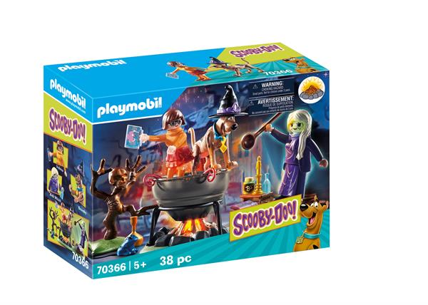 Image of Eventyr i heksekedlen - PL70366 - PLAYMOBIL Scooby Doo (PL70366)