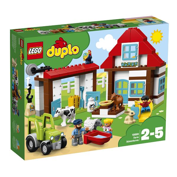 Image of   Eventyr på bondegården - 10869 - LEGO DUPLO