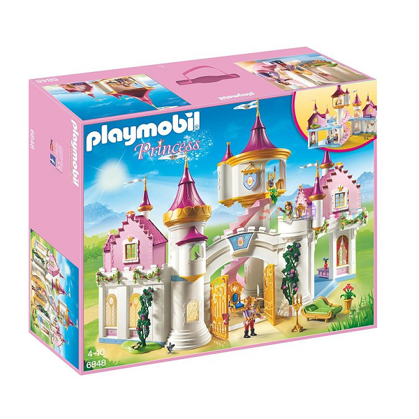 Fabelagtigt prinsesseslot - PL6848 - PLAYMOBIL Princess