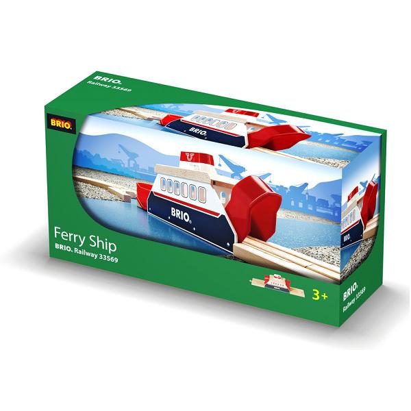 Færge med lyd og lys - 33569 - BRIO Tog