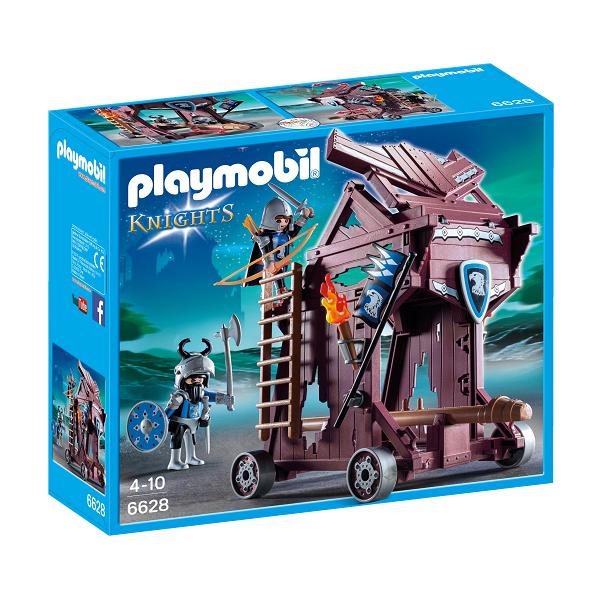 Image of Falkeriddernes angrebstårn - PL6628 - Playmobil Knights (PL6628)