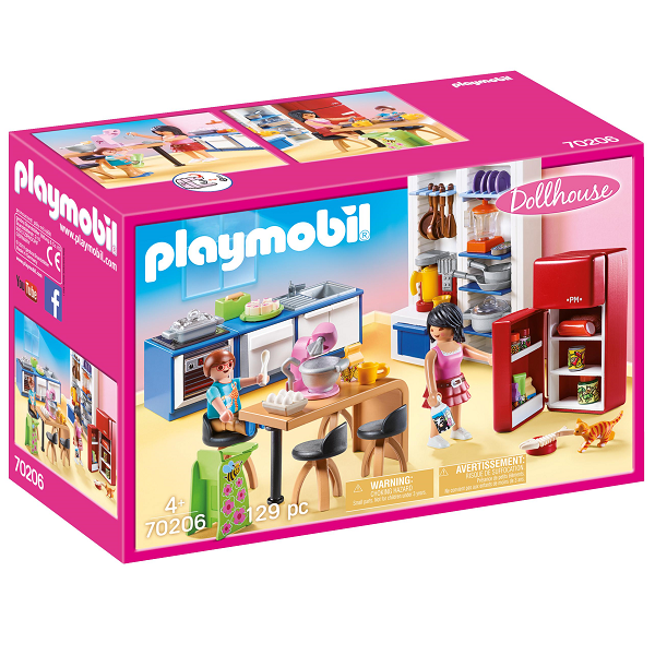 Image of   Familiekøkken - PL70206 - PLAYMOBIL Dollhouse