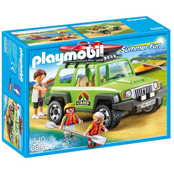 Image of Familieterrænvogn med kajakker - PL6889 - Playmobil Summer Fun (PL6889)