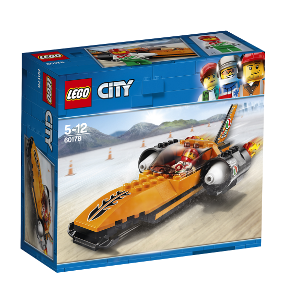 Image of   Fartrekordbil - 60178 - LEGO City