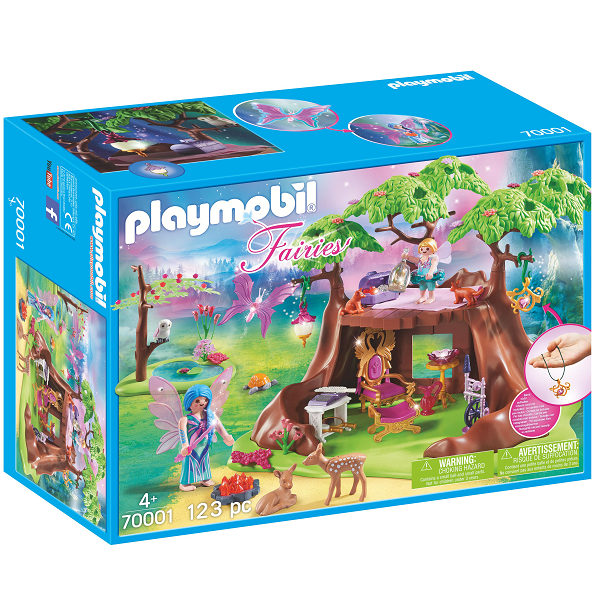 Image of Fehus i skoven - PL70001 - PLAYMOBIL Fairies (PL70001)