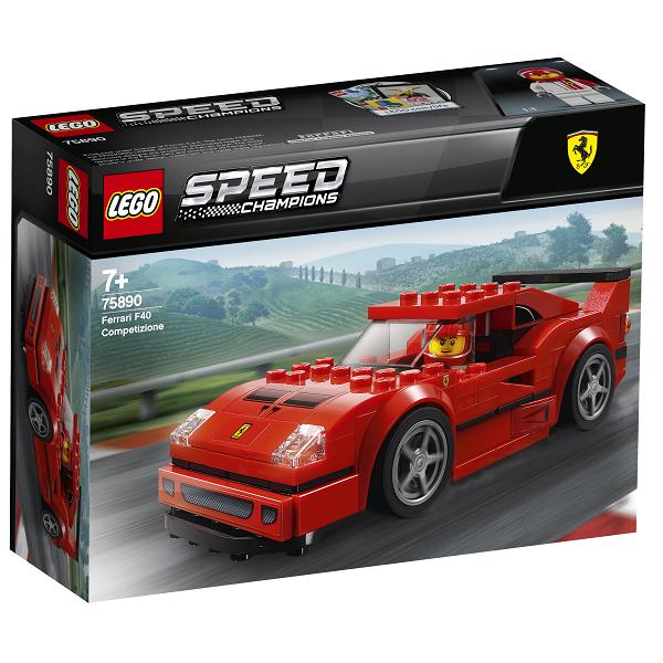 Image of Ferrari F40 Competizione - 75890 - LEGO Speed Champions (75890)