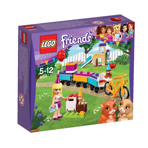 Image of Festtog - 41111 - LEGO Friends (41111)