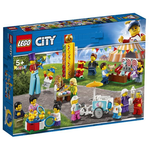 Image of   Figursæt - forlystelsespark - 60234 - LEGO City