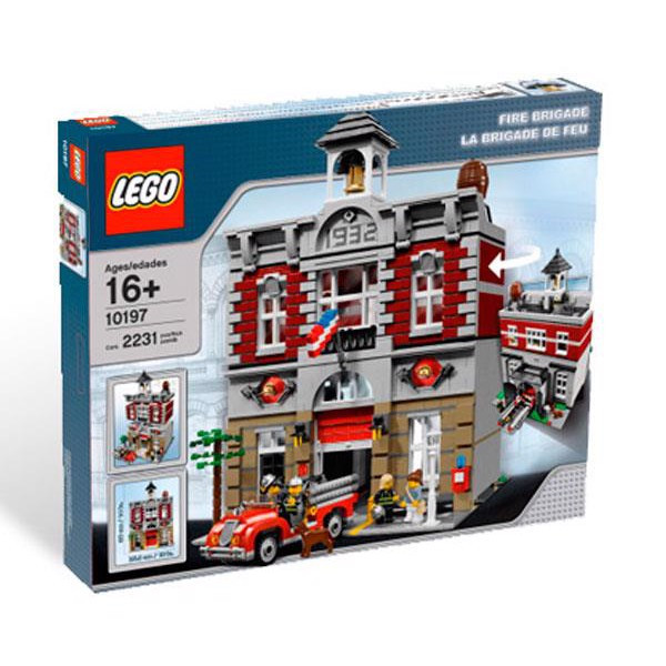 Image of Fire Brigade - 10197 - LEGO Advanced Models (10197)