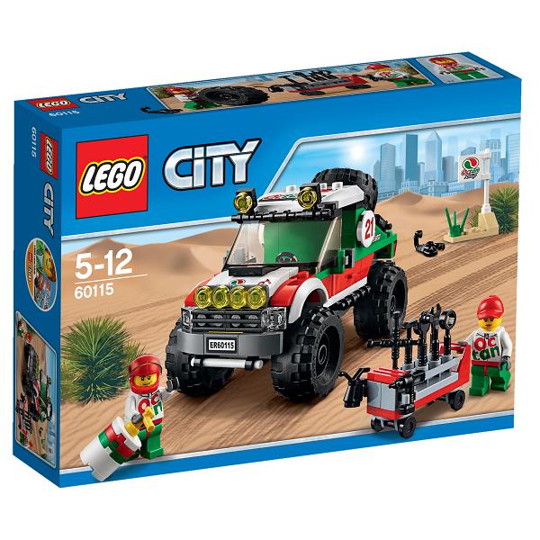 Image of Firhjulstrukket offroader - 60115 - LEGO City (60115)