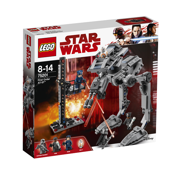Image of   First Order AT-ST - 75201 - LEGO Star Wars