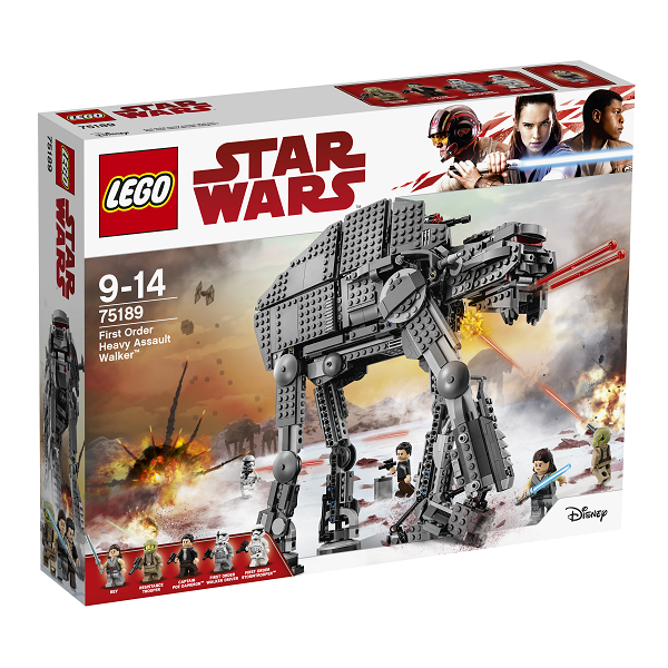 Image of First Order Heavy Assault Walker - 75189 - LEGO Star Wars (75189)