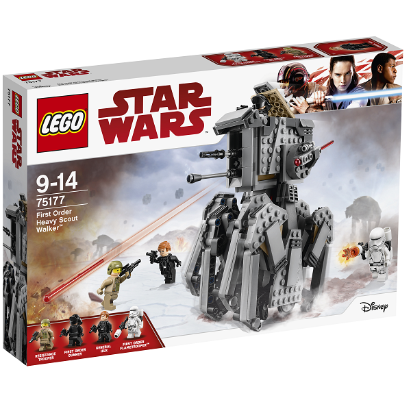 Image of   First Order Heavy Scout Walker - 75177 - LEGO Star Wars