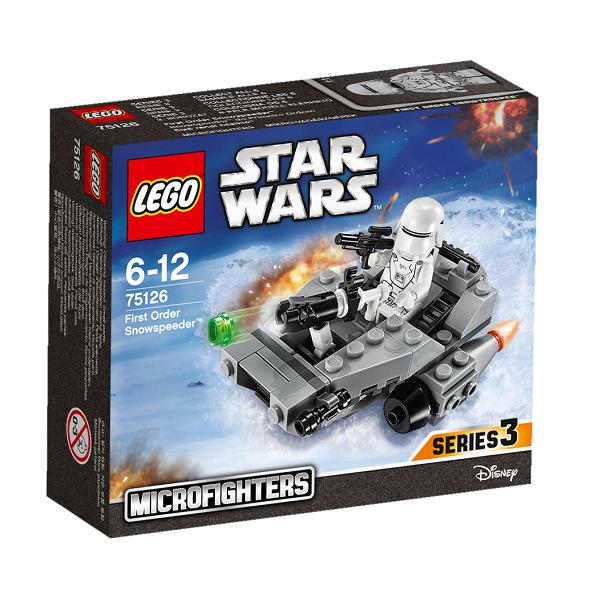 Image of First Order Snowspeeder - 75126 - LEGO Star Wars (75126)