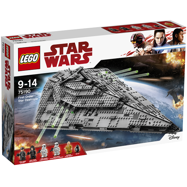 Image of   First Order Star Destroyer - 75190 - LEGO Star Wars