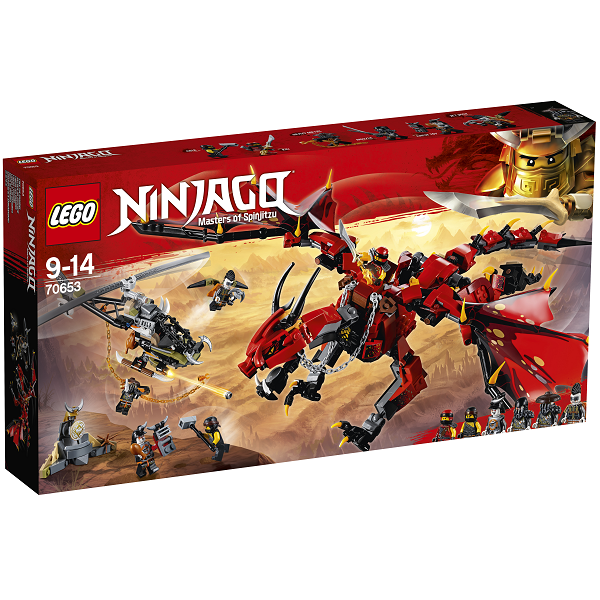 Image of   Firstbourne - 70653 - LEGO Ninjago