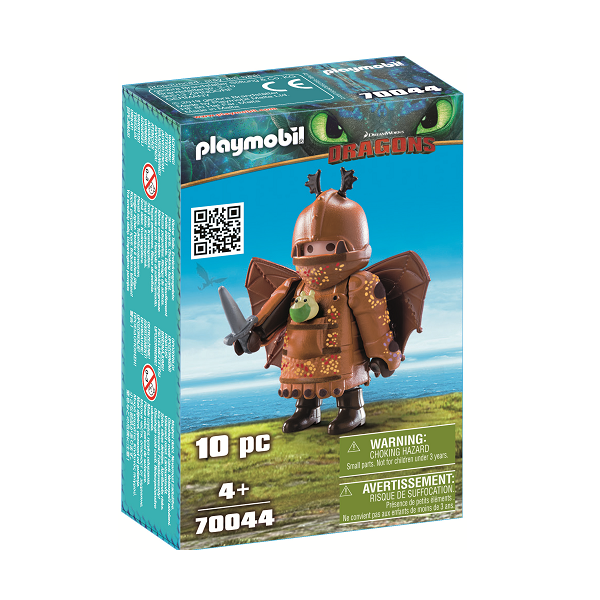 Image of Fiskeben i flyveuniform - PL70044 - PLAYMOBIL Dragons (PL70044)