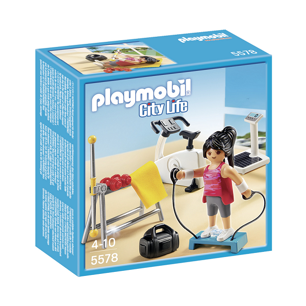 Image of   Fitness rum - 5578- PLAYMOBIL City Life