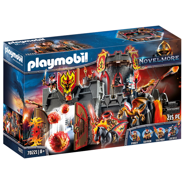 Image of Flammefæstning - PL70221 - PLAYMOBIL Knights (PL70221)