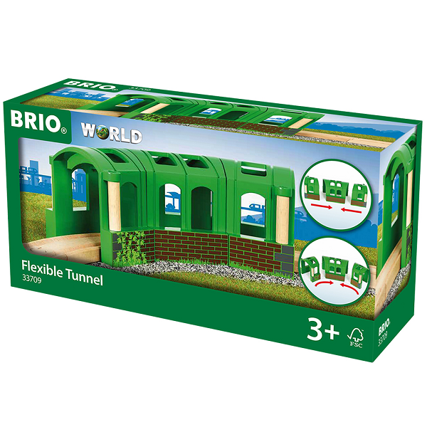 Image of Fleksibel tunnel - 33709 - BRIO (33709)
