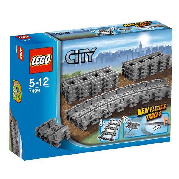 Fleksible skinner - 7499 - LEGO City