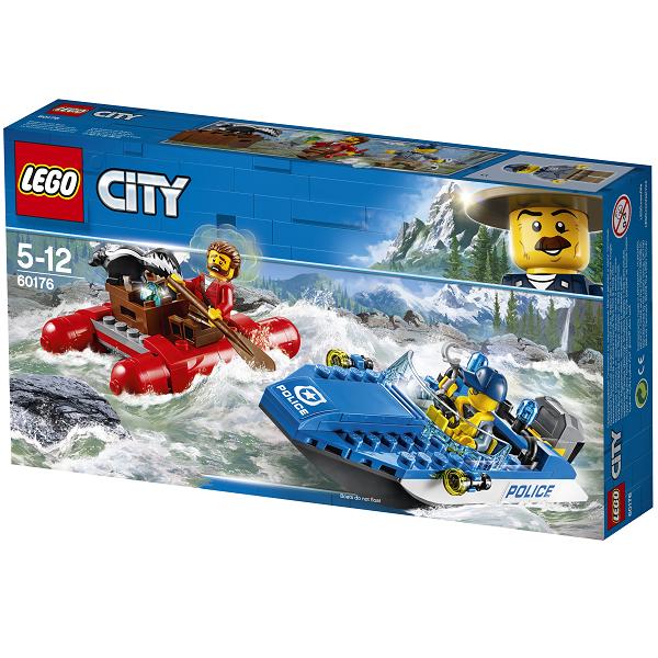 Image of Flugt på floden - 60176 - LEGO City (60176)