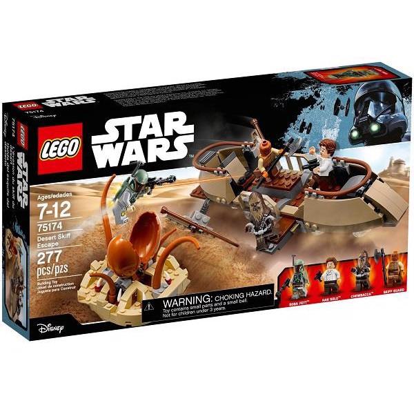 Image of   Flugten fra Desert Skiff - 75174 - LEGO Star Wars