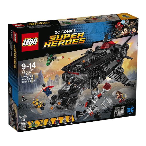 Image of   Flying Fox: Flyvende batmobilangreb - 76087 - LEGO Super Heroes