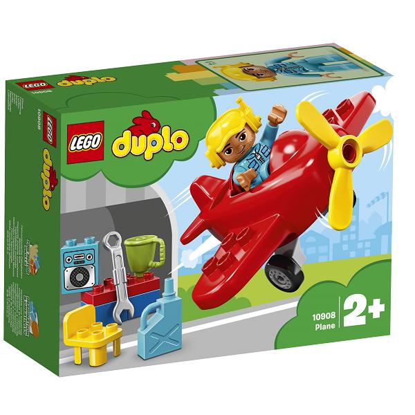 Image of   Flyvemaskine - 10908 - LEGO DUPLO