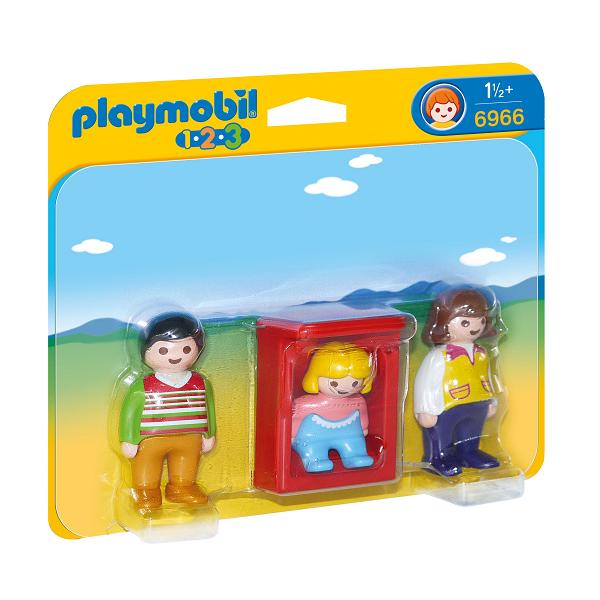 Image of Forældre med baby - PL6966 - PLAYMOBIL 1.2.3 (PL6966)
