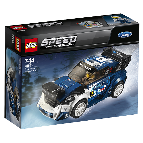 Image of Ford Fiesta M-Sport WRC - 75885 - LEGO Speed Champions (75885)