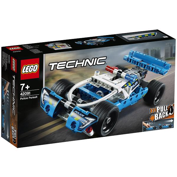 Image of   Forfølgelsesbil - 42091 - LEGO Technic