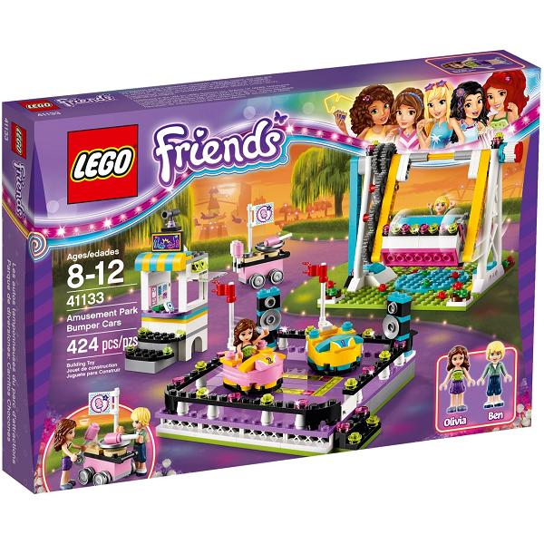 Image of   Forlystelsespark - radiobiler- 41133 - LEGO Friends