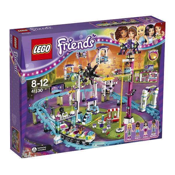 Image of   Forlystelsespark - rutsjebane - 41130 - LEGO Friends