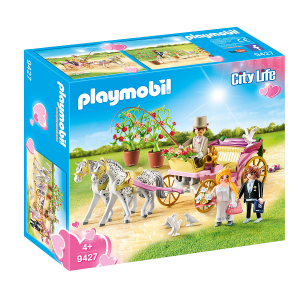Image of Bryllupskaret - PL9427 - PLAYMOBIL City Life (PL9427)