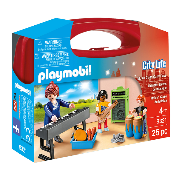 Image of Musikundervisnings-box - PL9321 - PLAYMOBIL City Life (PL9321)
