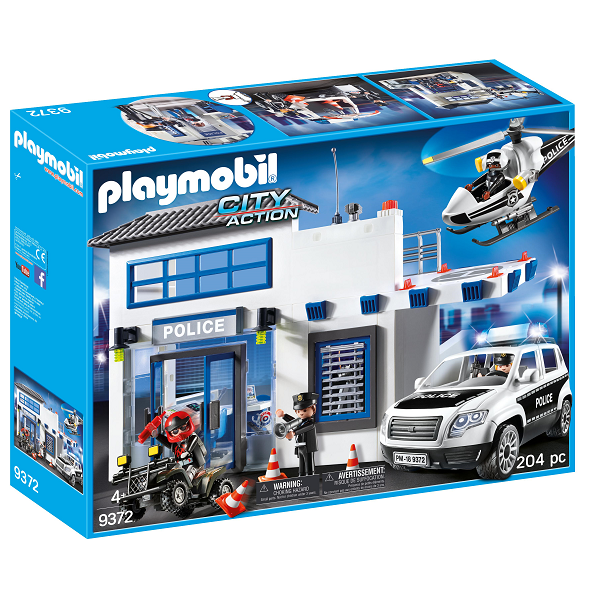 Image of Politistation - PL9372 - PLAYMOBIL City Action (PL9372)